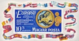 1975, Ungarn, 3056 Block 113 A , MNH **,  KSZE Konferenz - Hojas Bloque