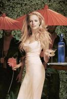 SkyY Vodka Advertising Postcad Sexy Girl - Size 15x10 Cm. Aprox. - Publicidad