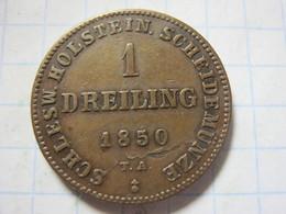 Schleswig-Holstein 1 Dreiling 1850 - [ 1] …-1871: Altdeutschland