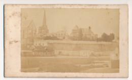 Photographie Ancienne XIXe CDV Vue De REDON Photographe GUIHAIRE - Ancianas (antes De 1900)