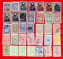 4260  --  TURQUIE  Service  --  Lot  De  Timbres - 1921-... République