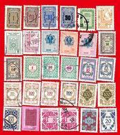 4261  --  TURQUIE  Service  --  Lot  De  Timbres - 1921-... République