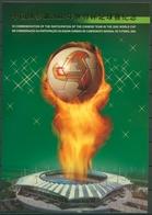 Macau 2002 Gemeinschaftsausgabe Fußball Block 102 Postfrisch (SG21212) - Blocks & Kleinbögen