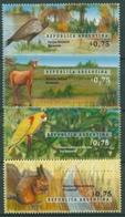 Argentinien 1996 Nationalpark Tiere Prachtamazone Sumpfhirsch 2311/14 Postfrisch - Argentinien