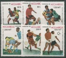 Mocambique 1989 Fußball-WM In Italien 1166/71 Postfrisch - Mosambik