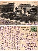 CPA AK WARSZAWA Pomnik Mickiewicza POLAND WARSAW (289787) - Poland