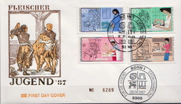 Germany Set On FDC From 1987 - Unclassified