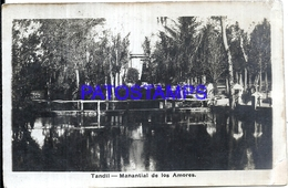 117366 ARGENTINA TANDIL BUENOS AIRES MANANTIAL DE LOS AMORES POSTAL POSTCARD - Unclassified