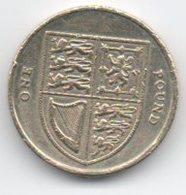 England 1 Pound 2012 - Monete Regionali