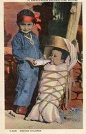NAVAHO CHILDREN - AT GRAND CANYON NATIONAL PARK, ARIZONA. U.S.A. POSTALE CIRCA 1920's NON CIRCULEE - LILHU - Grand Canyon