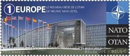 SALE!!! BELGIUM BÉLGICA 2016 New NATO Headquarters Stamp MNH ** Europa Sympathy Mitläufer - Europäischer Gedanke