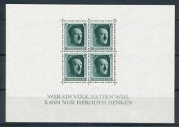 Deutsches Reich Block 7 ** Mi. 70,- - Germany