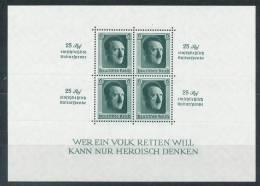 Deutsches Reich Block 9 ** Mi. 320,- - Germany