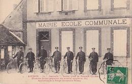 """ROUSSON (30) - Pompiers Cycliste """"La Sentinelle"""" - Guillot 3 - Sans Date - France"""