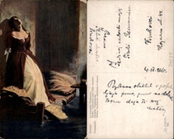 FLAVICKIJ PAINTING POSTCARD - Malerei & Gemälde