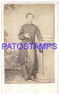 117399 ARGENTINA BUENOS AIRES COSTUMES MAN MILITARY PHOTOGRAPHER ALEXANDER PHOTO NO POSTAL POSTCARD - Photographie