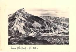 04 - SISTERON : Vue Aérienne - CPSM Dentelée Noir Blanc Grand Format Avec Cadre - Alpes De Haute Provence - Sisteron