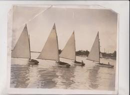 ETAT WATER CARNIVAL NORFOLK BROADS 25*20CM Fonds Victor FORBIN 1864-1947 - Barcos