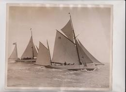 PLYMOUTH TO SANTANDER SPAIN ESPAÑA OCEAN YACHT RACE  25*20CM Fonds Victor FORBIN 1864-1947 - Barcos