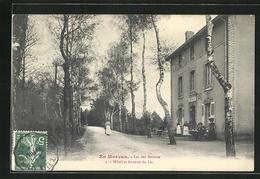 CPA Morvan, Lac Des Settons, Hotel Et Avenue Du Lac - Sin Clasificación