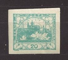 Czechoslovakia 1918 MNH ** Mi 4 Sc 4 Hradcany At Prague. Tschechoslowakei. C7 - Tchécoslovaquie