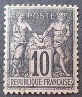 DF40266/529 - SAGE TYPE I N°103 - CàD - BON CENTRAGE - 1876-1878 Sage (Typ I)