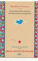 CARNET CROIX ROUGE ANNEE 1961 - Libretti