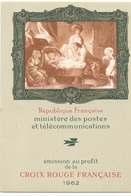 CARNET CROIX ROUGE ANNEE 1962 - Libretti