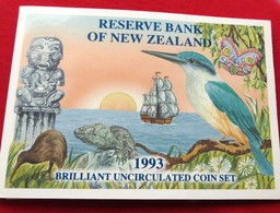 New Zealand 5 10 20 50 C 1 2 $ 1993 Bird Nova Zelandia Nuova Zelanda Nouvelle Zelande - New Zealand