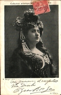 Artiste Femme 1900 - Borjo Ge L'opéra, Bijoux Art Nouveau - Cabarets
