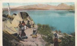 Apache Native American Indians, Roosevelt Lake Arizona, C1910s Vintage Postcard - Native Americans