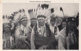 Native American Indians Pawnees Of Oklahoma, C1930s Vintage Postcard - Indiaans (Noord-Amerikaans)