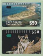 "Australia - Telecom - 1994/5 Rosebud Phonecrad Club Specimens Set (2) - ""Mint"" - Australie"