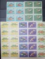 O) 1966 VENEZUELA, FISHES - VELVET -SOWN - PERCH - PIRANHA - SC 908 -910, PEARL -SWORDTALL -RAMIREZ'S -SC C933 - C935, - Venezuela