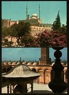 2 X Ägypten  -  Cairo / Kairo  -  Mohamed Aly Mosque  -  Ansichtskarten Ca. 1980  (11709) - Kairo