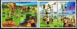 ID0546 Indonesia 1996 Boy Scout Camping 8V - Indonésie
