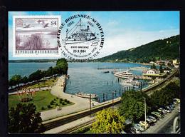 1984 100 Jahre Österr. Bodensee-Schiffahrt Sonderstempel + Cachet MS Austria  - Unclassified