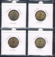 AUSTRALIA • 2019 • $2 • Mr Squiggle • Set Of 4 • Coloured Coins In Coin Holder - Others