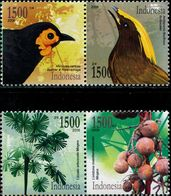 ID0591 Indonesia 2006 Flora And Fauna Birds 4V - Indonesië
