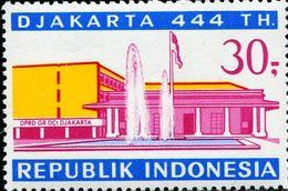 ID0600 Indonesia 1971 Jakarta Architecture 1V - Indonesia