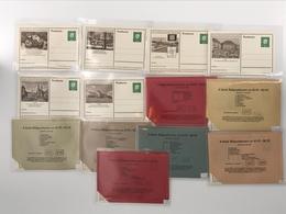 Bund Ganzsachen MiNr. P 42 Postfrisch MNH Karte 463-562 (V670 - [7] République Fédérale