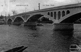 """ANDREZIEUX """"Pont Neuf"""" - Andrézieux-Bouthéon"""