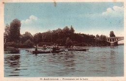 """ANDREZIEUX """"Promeneurs Sur La Loire"""" - Andrézieux-Bouthéon"""