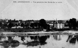 """ANDREZIEUX """"Vue Générale Des Bords De La Loire"""" - Andrézieux-Bouthéon"""