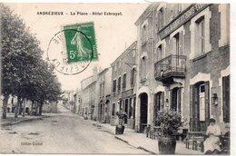 """ANDREZIEUX """"La Place HOTEL EXBRAYAT - Andrézieux-Bouthéon"""