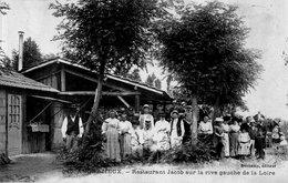 """ANDREZIEUX """" Restaurant JACOB Sur La Rive Gauche De La Loire"""" - Andrézieux-Bouthéon"""