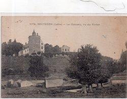 """BOUTHEON """"Le Château ,vu Du Vivier"""" - Andrézieux-Bouthéon"""