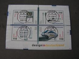 BRD 1998 Bl.45 Mit Tagesstempel Mainz - BRD