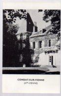 REF 374 : CPA 87 CONDAT SUR VIENNE - Condat Sur Vienne