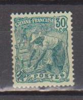 GUYANE        N°  YVERT   106     NEUF AVEC CHARNIERE      ( Char 02/13 ) - Guayana Francesa (1886-1949)